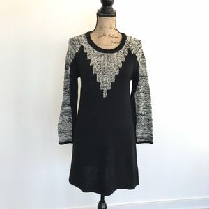 Paper Crane Marled Knit Sweater Dress Size Small